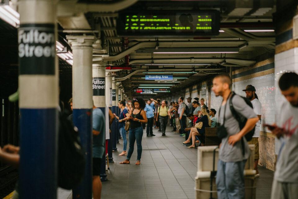 NYC subway stop